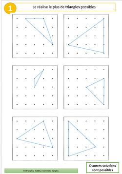 Ateliers géométrie