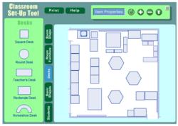 Réaliser un plan d'aménagement de classe