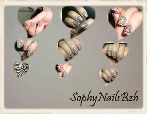 Nail Decal Spirale