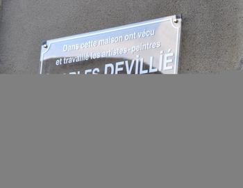 4-Plaque Charles Devillié et Maurice Tête