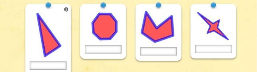 Connaître  les noms des polygones et les orthographier correctement.