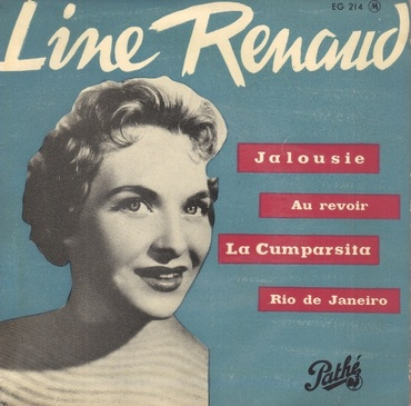 Line Renaud, 1956