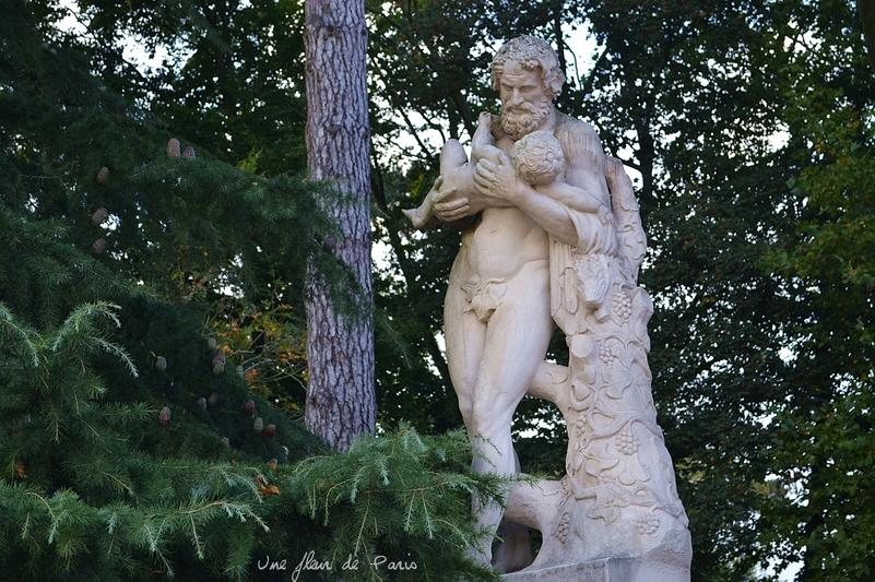 Domaine de Sceaux : Anselme Flamen, Le Faune Borghèse