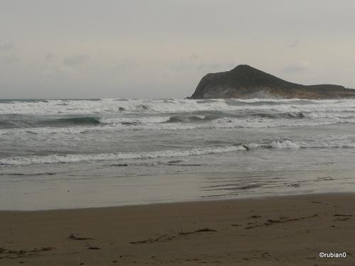 la plage de Los Genoveses