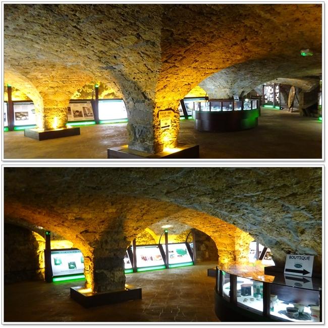 """Cave """"Roquefort Société"""" et son restaurant"""