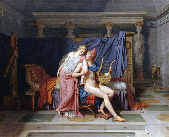 Hélène et Pâris de David