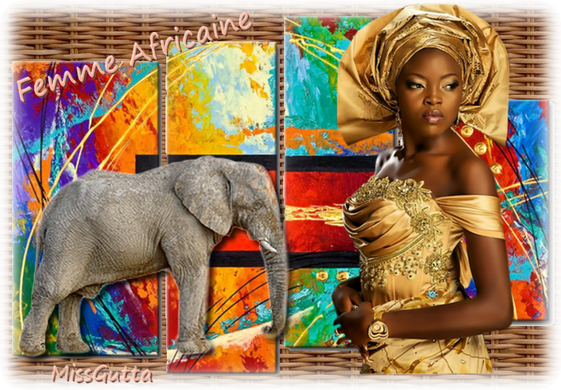 femme  Africaine défi Lilimaya ,