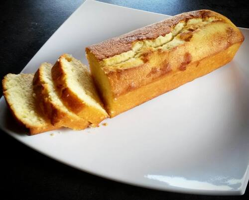 The lemon cake