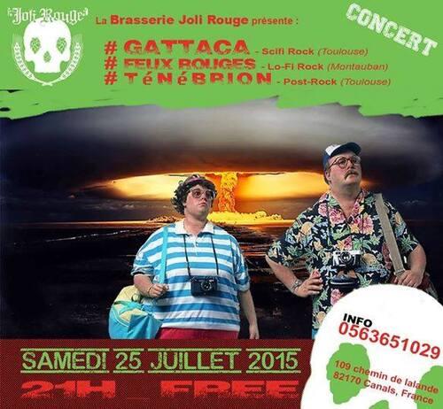Concerts à la brasserie le 11 et le 25 juillet.
