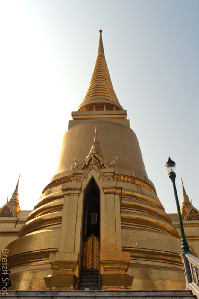 Grand Palais de Bangkok le chédi