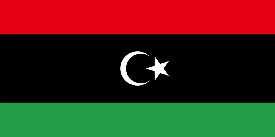 Libye, Drapeau, Des Terres, Coat Of Arms, Caractères