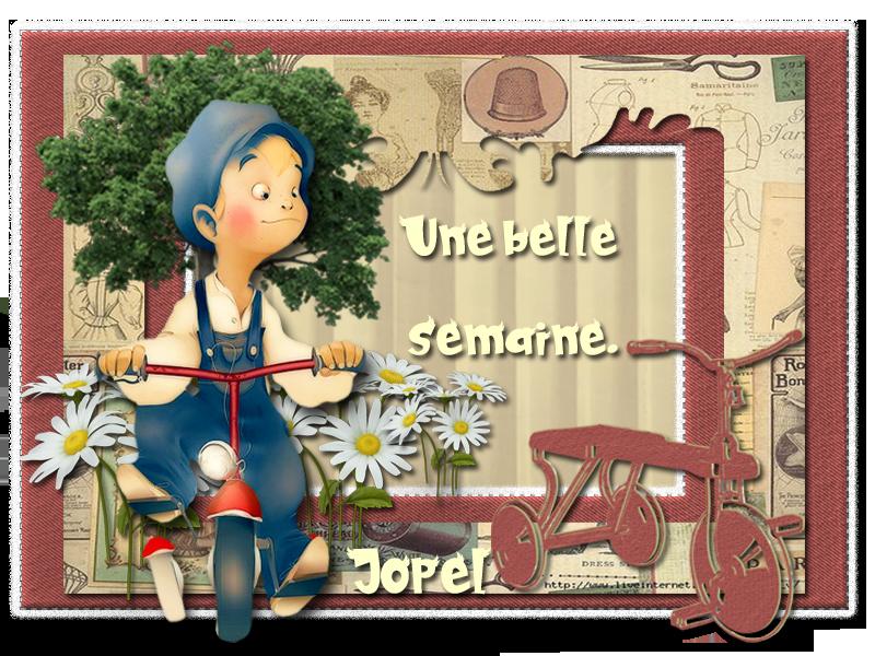 Bonne semaine+kit par Jopel