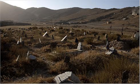 Cimetière de Humberstone et Lanoria au Chili