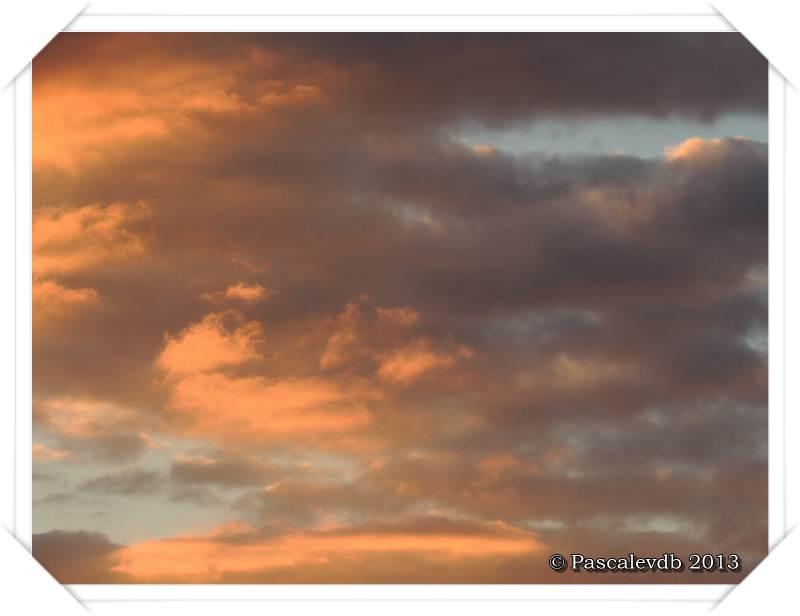 Le ciel en feu