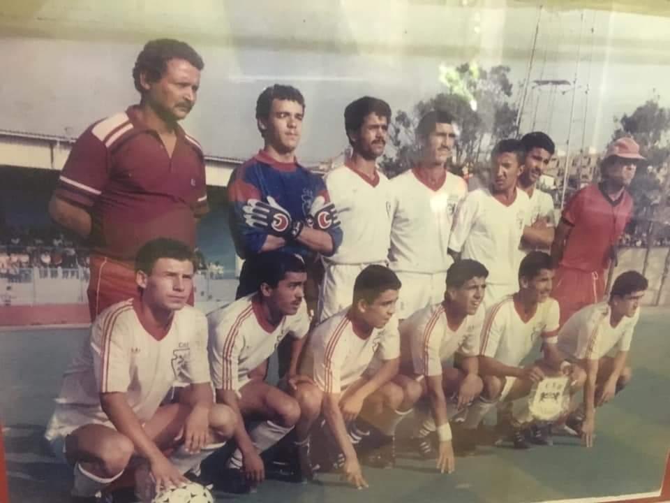 BENALI Coupe d'Algérie juniors 1987 avec Chlef