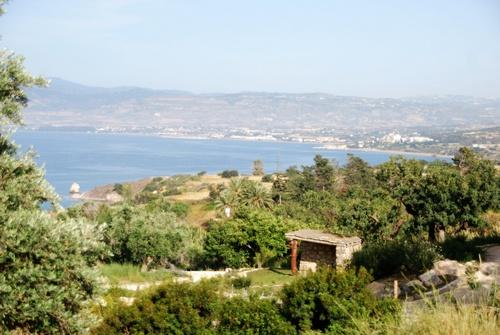 Les bains d'Aphrodite et çatons à Zypre (photos)