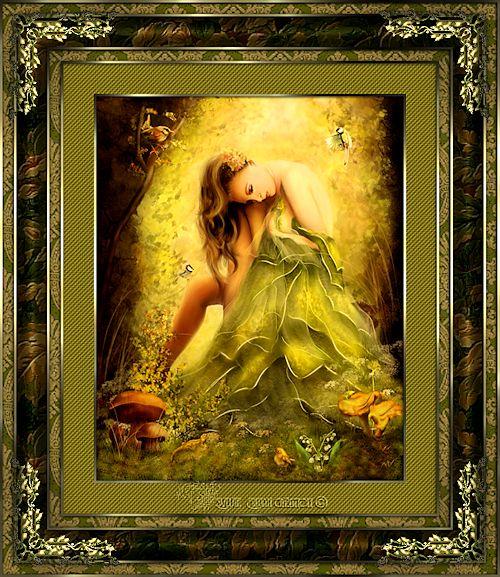 Cadre ange et fée 18