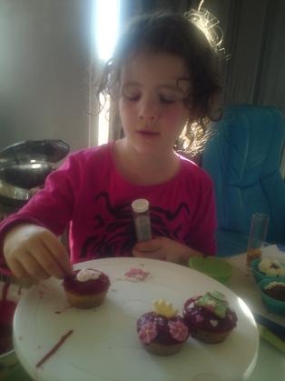 Cup Cakes à la cerise