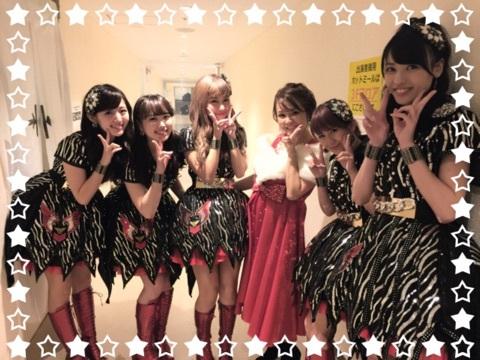 ℃-ute dans le blog de Yukô NAKAZAWA
