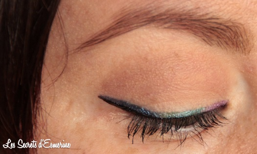 double liner, kiko, makeup, maquillage, yeux