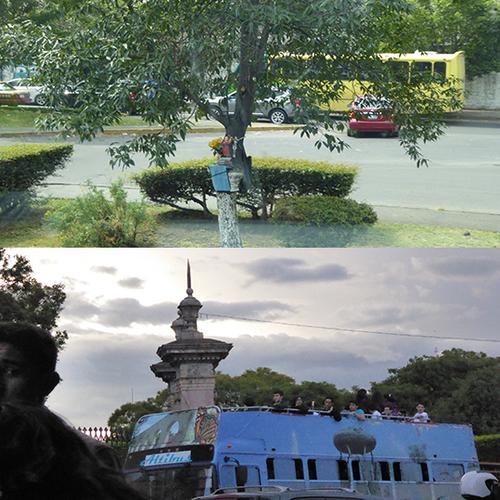 VA BOIS REGARDE . ENTRÉE EN MORELIA COLONIAL - 2