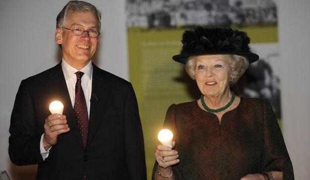 Beatrix au musée