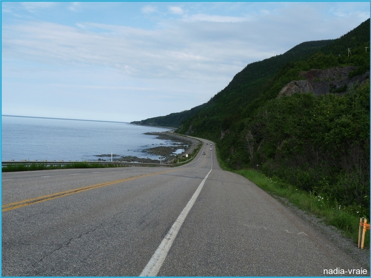 La Gaspésie pour des vacances. (Défi du mois de juin chez khanel3)