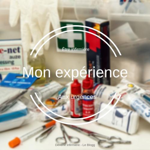 Mon expérience professionnelle aux urgences