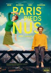 Affiche Paris pieds nus