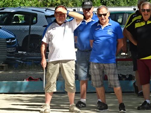 Belle journée aux vétérans de Bourg st Andeol du 18 juillet 2019