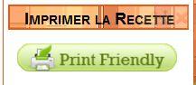 Imprimer une recette avec Print Friendly