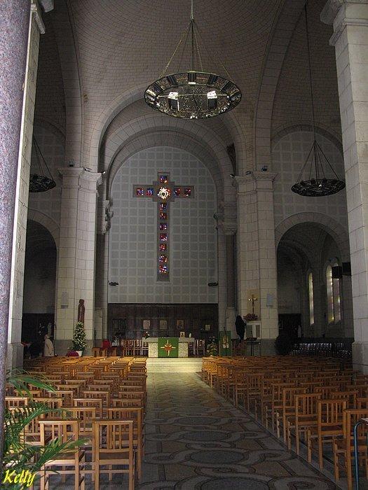 Pays-de-Loire, Vendee,La Roche sur Yon, sacre-coeur