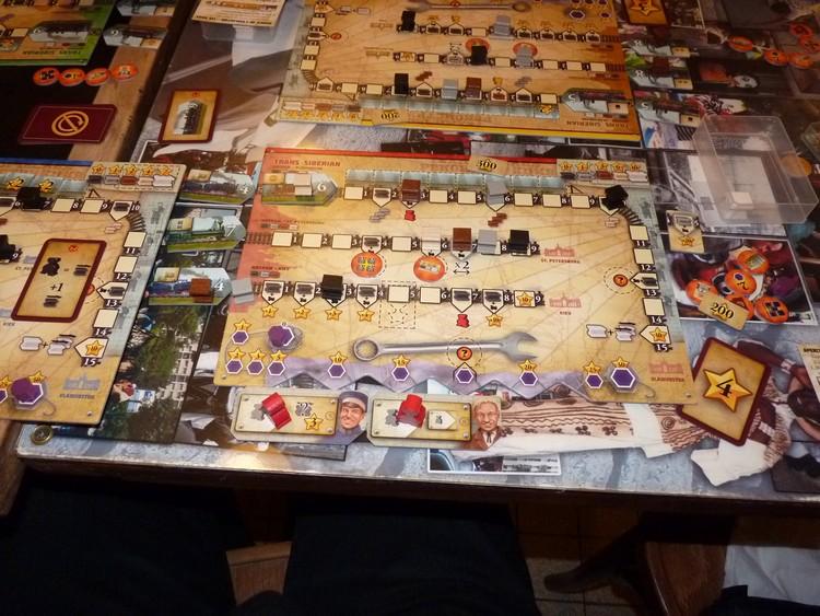 Russian Railroads (mon plateau final)