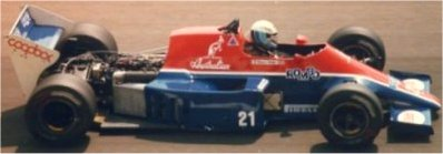 F1 1985 Spirit-Hart 415T
