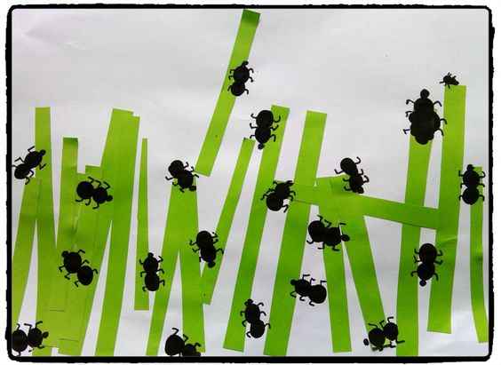 """Idée Pinterest : """"des fourmis dans l'herbe"""""""