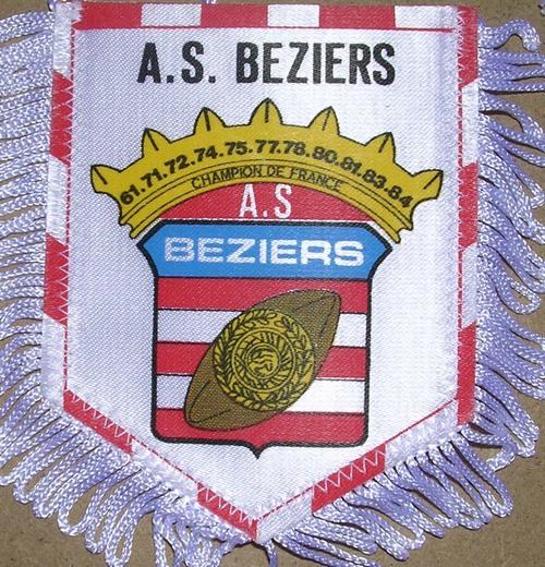 Fanion ancien AS Béziers (51)