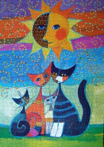Les petits chats.
