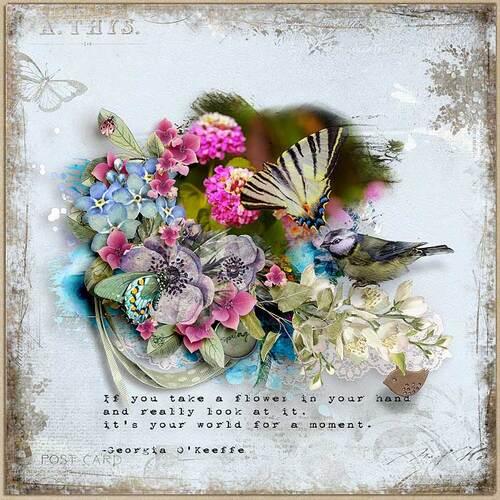 In Bloom by dentelle scrap