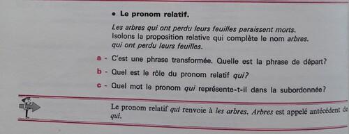 B / Les pronoms relatifs