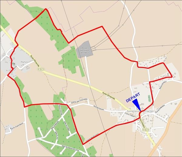 Le circuit des Ruaux