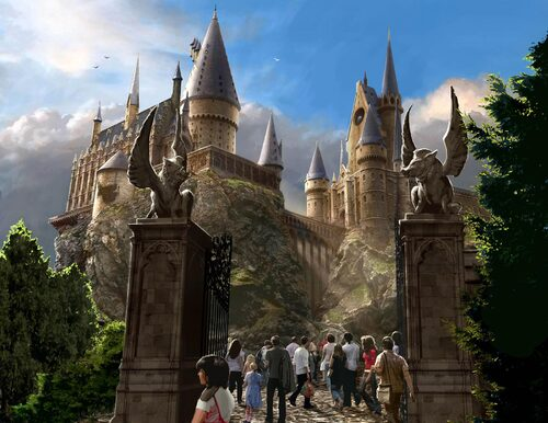 Parc Harry Potter en France