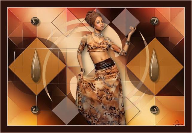 AF0003 - Tube femme africaine