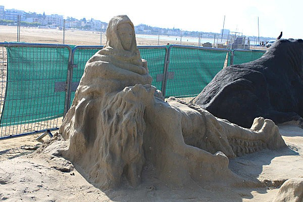 sculptures en sable à Royan-9-