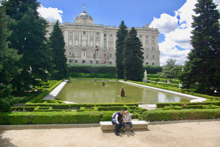 MADRID - Palais Real et jardins