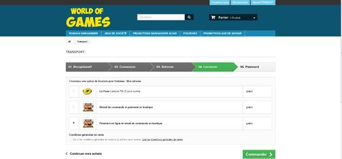 WORLD OF GAMES : le site d'Eddy