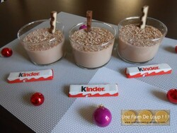 Crème dessert au chocolat blanc et à la vanille