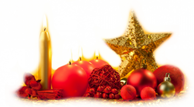 Bougies  etc Noël 1
