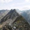 Du sommet du pic de Cumiadères (2623 m), pics de Maucapéra et Marraut
