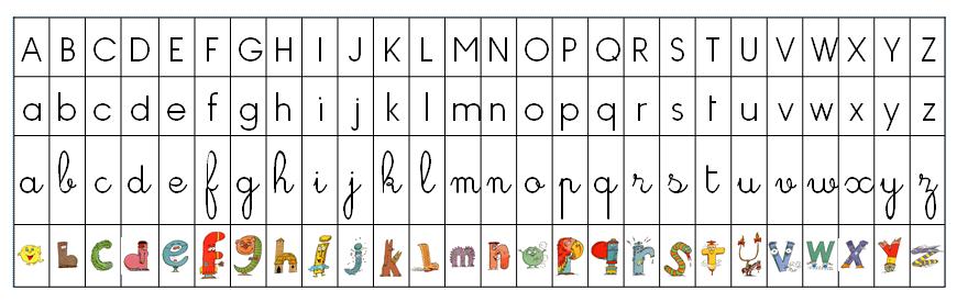 R f rentiel alphabet avec les alphas la classe d 39 eowin - Alphabet francais maternelle ...