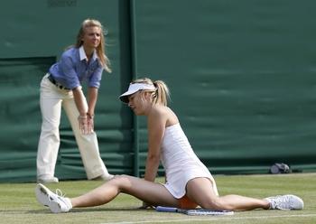 Maria Sharapova y va sans certitudes